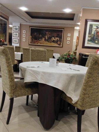 Hotel Vittorio Emanuele : Sala colazione