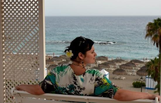 Bahia del Duque: вид со смотровой площадки отеля