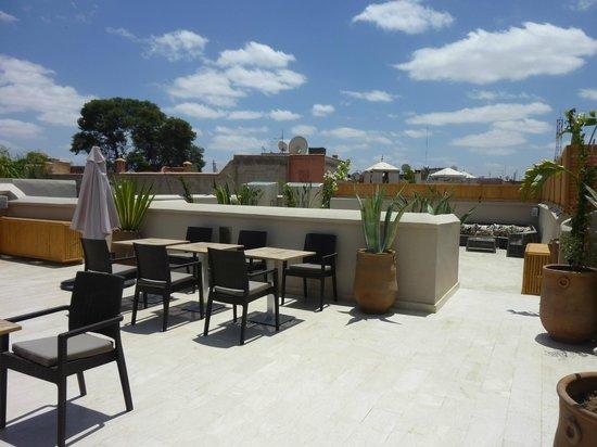 Riad Tahili & Spa : la terrasse
