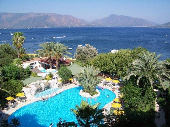 Tropikal Hotel: widok z okna pokoju
