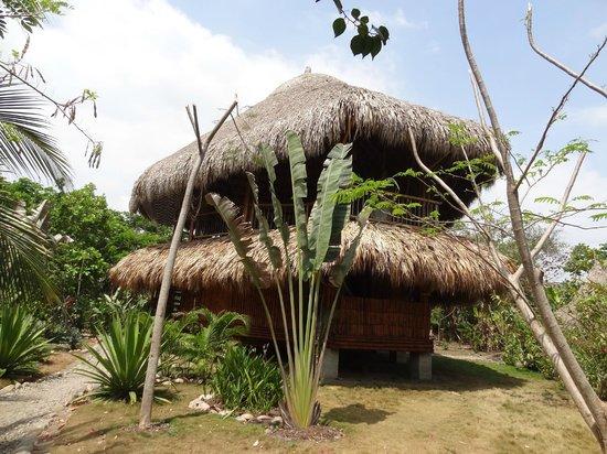 Casa de Guadua : building