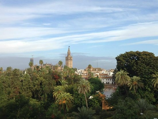 Hotel Alcazar : Vista dalla camera