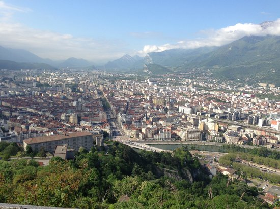 Bastille : View of Grenoble
