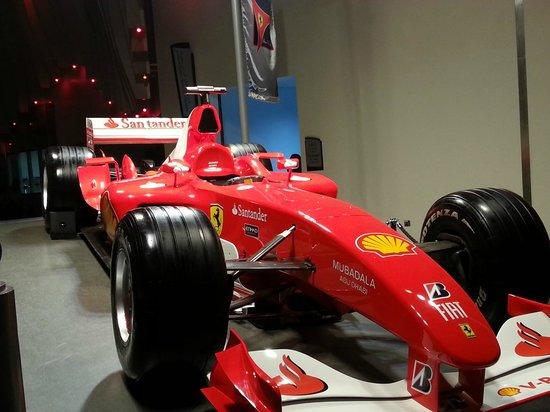 Ferrari World Abu Dhabi: Model of Ferrari in Abu Dhabi, UAE