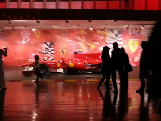 Ferrari World Abu Dhabi: Model of Ferrari, Abudhabi, UAE