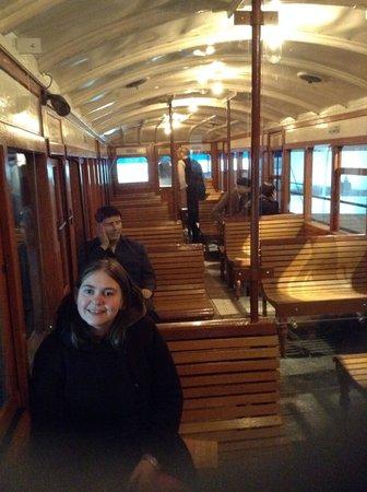 Museum of Liverpool: Train fun