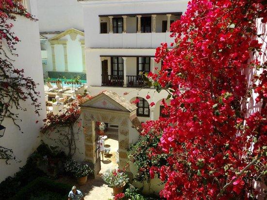Las Casas de La Juderia : パティオ