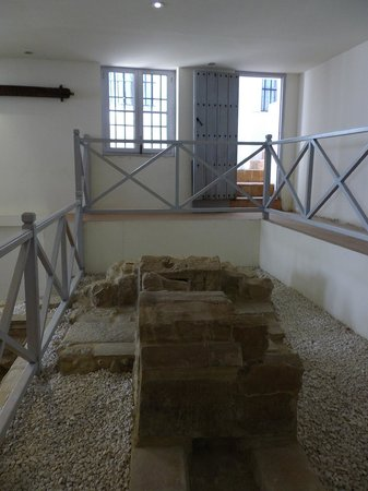 Las Casas de La Juderia : ホテル内の遺跡