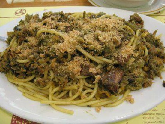 ... Focacceria San Francesco: pasta con le sarde e finocchietto selvatico