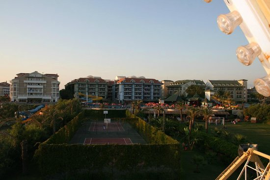 SENTIDO Turan Prince: Вид на отель с высоты карусельной корзины