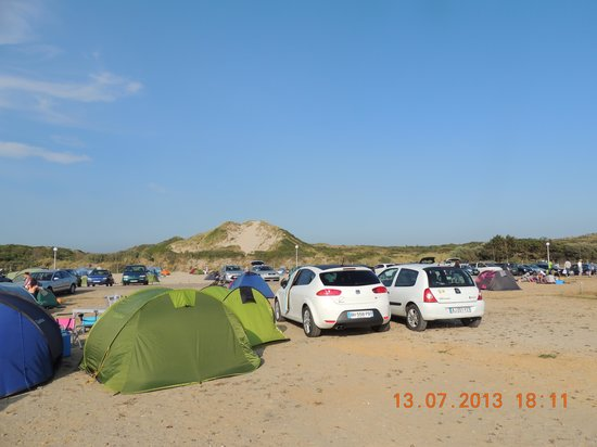 Stella-Plage, Франция: camping de la mer stella plage