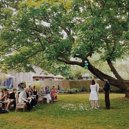 The Homestead at Rehoboth Bed & Breakfast: Ceremony
