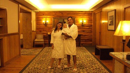 Llao Llao Hotel and Resort, Golf-Spa : salida del sauna