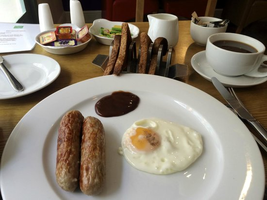 The Olive Branch : Not Quite a Full English, but Delicious Bangers!