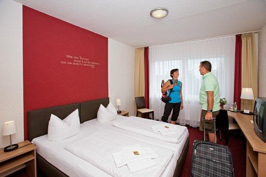 Aparthotel Oberhof: Blick in ein Gästezimmer