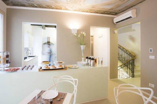 Borgoleoni18 Room & Breakfast: Sala Colazione