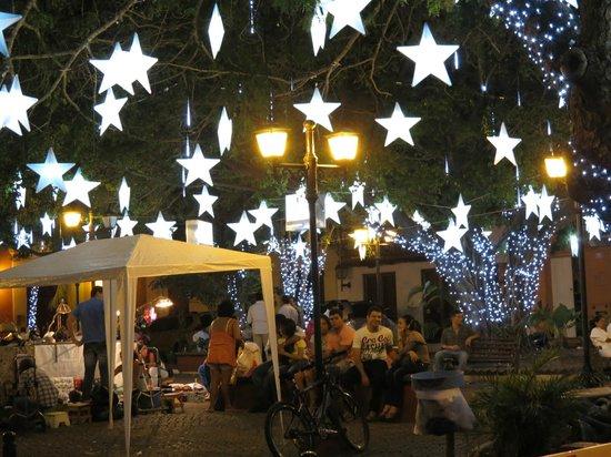 Sofitel Legend Santa Clara: the piazza in front of the hotel gates