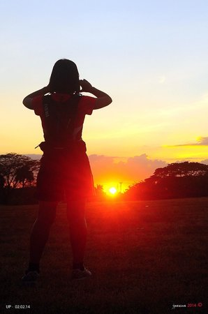 University of the Philippines: Watching the Sunset