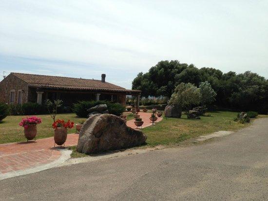 Hotel Parco degli Ulivi: The reception