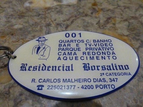 Residencial Borsalino: der Zimmer-Schlüssel