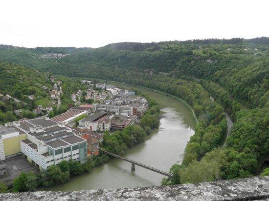 La Citadelle de Besançon : Vue sur Besançon