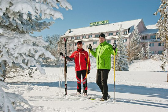 Aparthotel Oberhof: Winterimpression