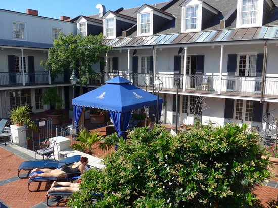 Royal Sonesta New Orleans : My place to hide from the sun