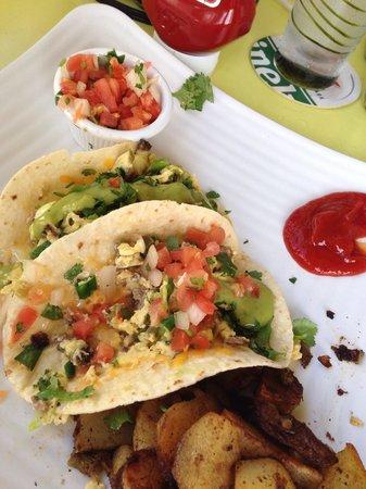 Sunshine Grill : Texas Breakfast Tacos