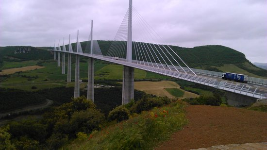 Viadukt von Millau: viaduc de Millau