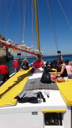 Bom Dia Boattrips-Day Boat Tours: Cocktails on board too!
