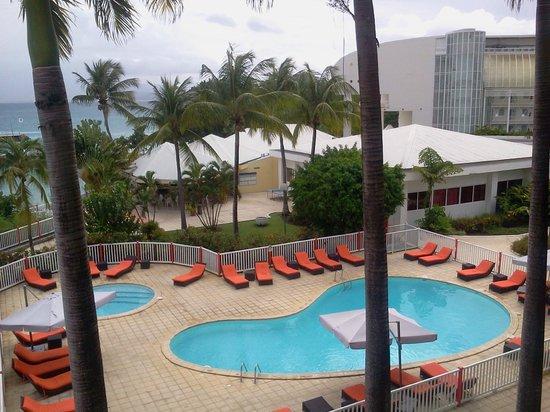 Karibea Beach Resort Gosier : Vue de la chambre