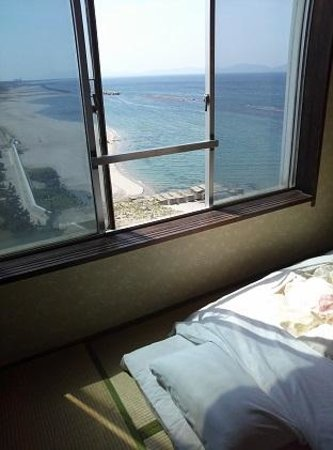 Yukai Resort Kaike Saichoraku : 海が見える部屋