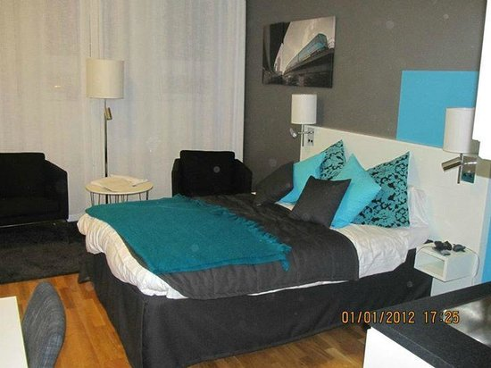 Sky Hotel Apartments Stockholm: letto