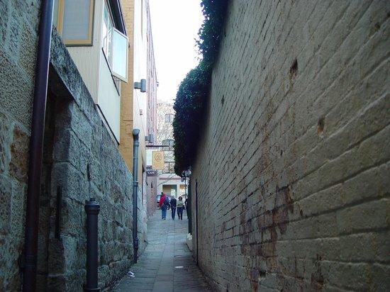 The Rocks: small pathways to sneak through