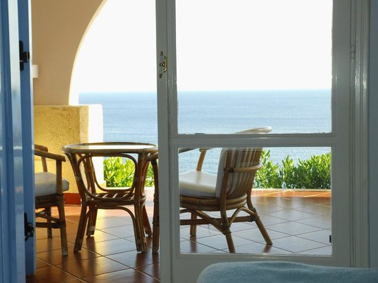 Mitsis Summer Palace Beach Hotel: vue depuis chambre 216