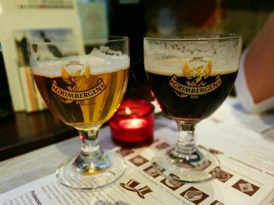 Les Chapeliers : Grimbergen Beers