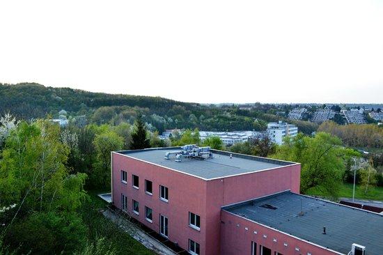 Albion Hotel: Вид из нашего номера