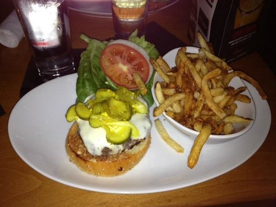 5 Napkin Burger: Burger et frites maisons