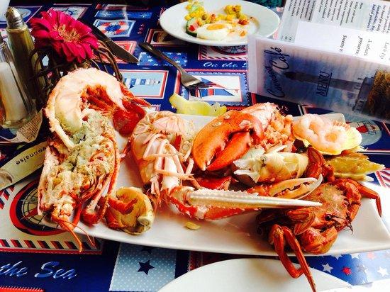 Covesea Cafe: Seafood platter
