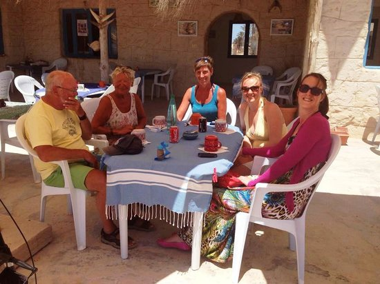 Restaurant Sidi Ali Adel : met vrienden