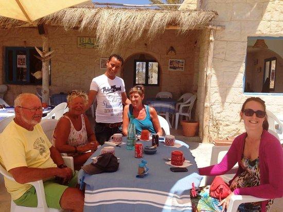 Restaurant Sidi Ali Adel : met een van de lieve werknemers