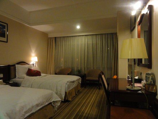 Golden Spring Hotel: 金泉大酒店(部屋1)