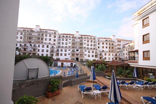 Apartamentos Casablanca: Vue de la terrasse de notre appartement