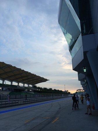 Sepang International Circuit : Sunset At Sepang