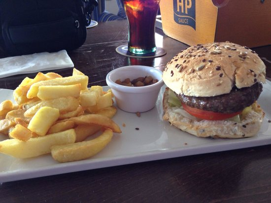 The Lifeboat Inn: Burger