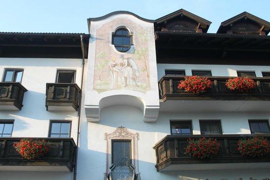 Hotel zur Post: balkon