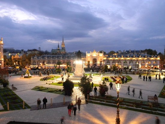 Place Stanislas : Éphémérides