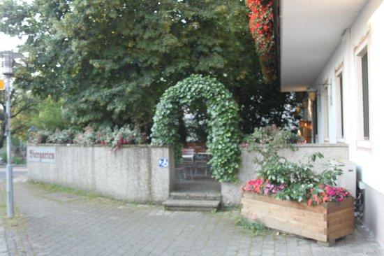 Hotel zur Post: terras