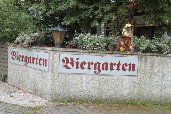 Hotel zur Post: Biertuin