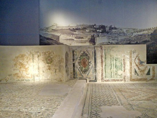 Grave chamber with frescos inside - Picture of Museum of ...